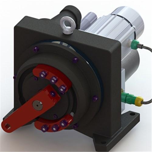 SKJG-3100一体化控制行角行程电动执行器